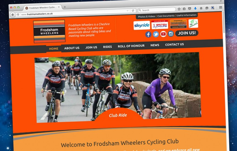 frodsham wheelers website
