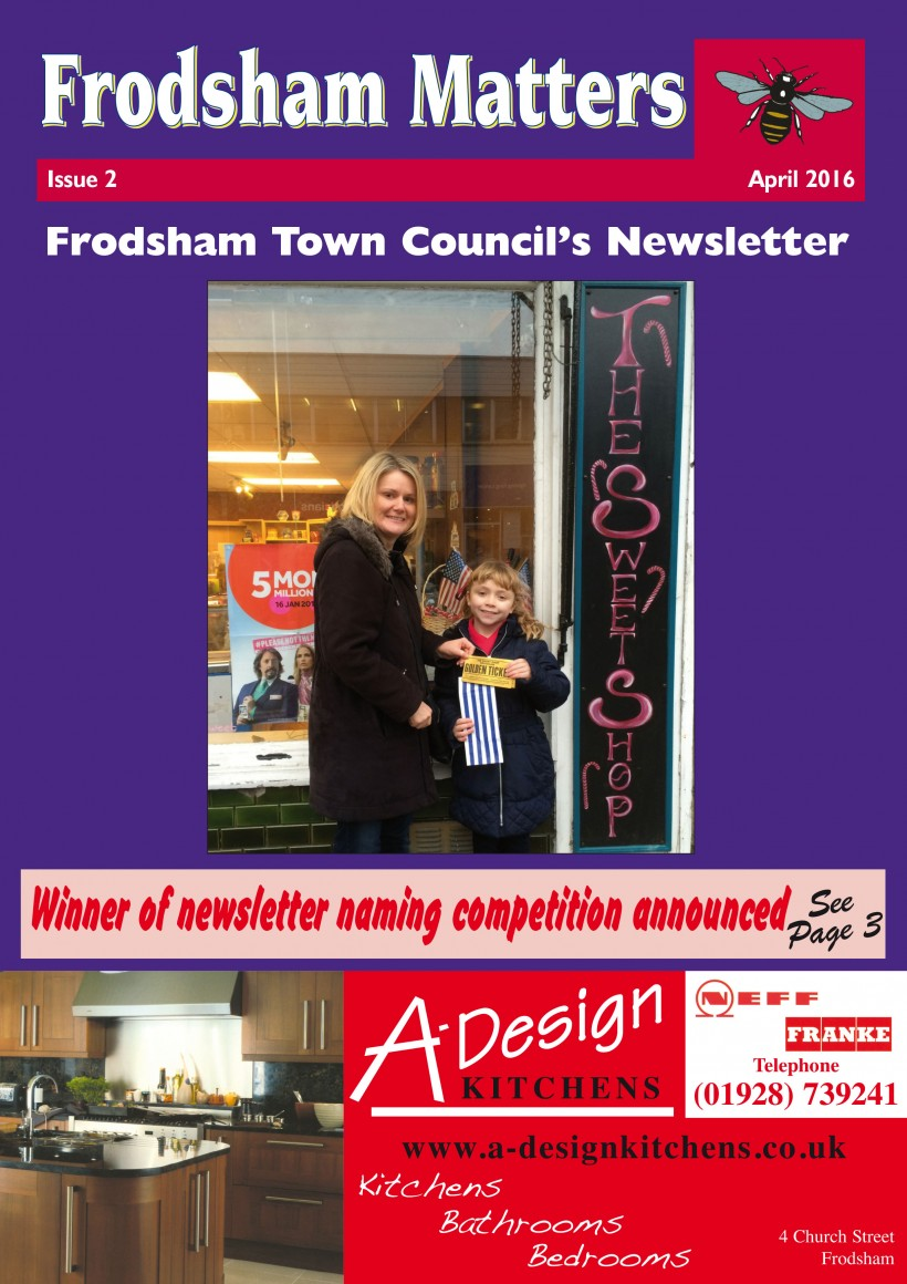 Frodsham Matters Issue 2 Cover
