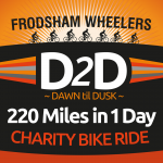 frodsham wheelers d2d icon charity bike ride