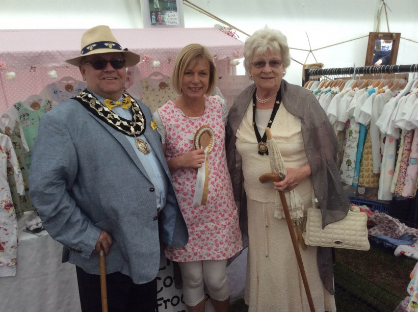 Frodsham Mayor and Mayoress at Royal Cheshire Show