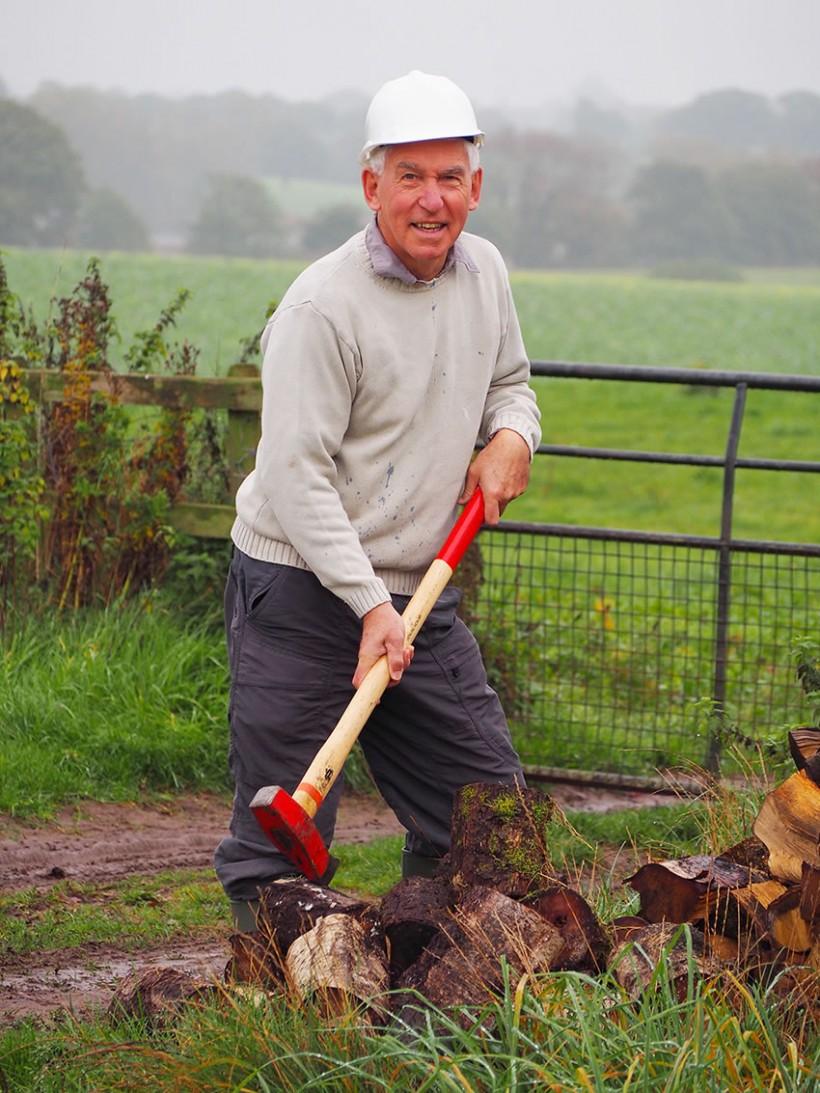 bill volunteering cheshire wildlife trust
