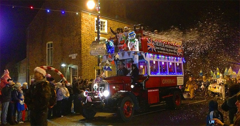 frodsham christmas festival main street closed