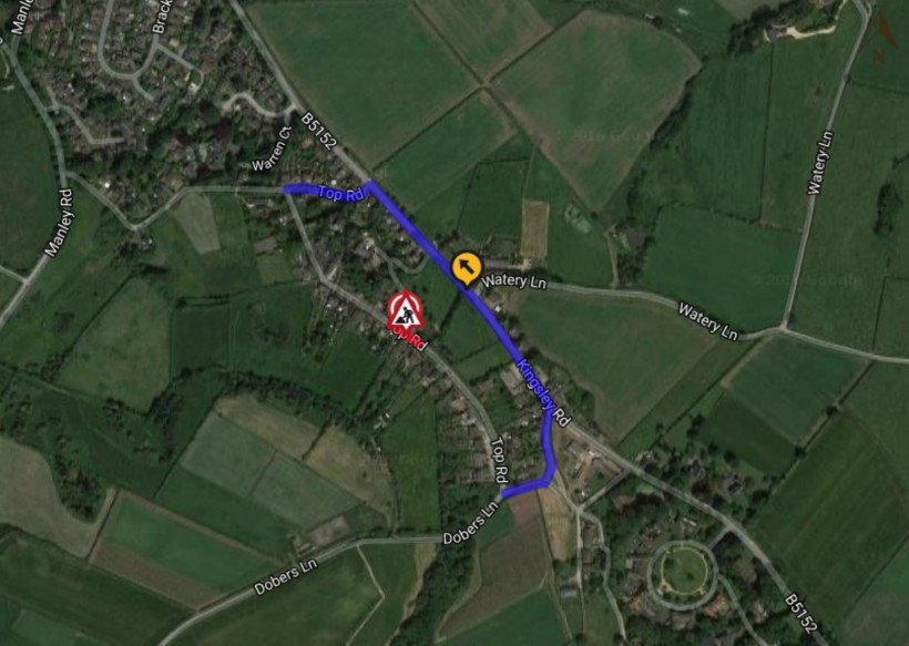 top road frodsham map