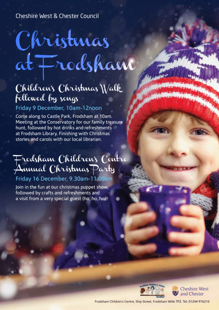 Christmas at Frodsham poster