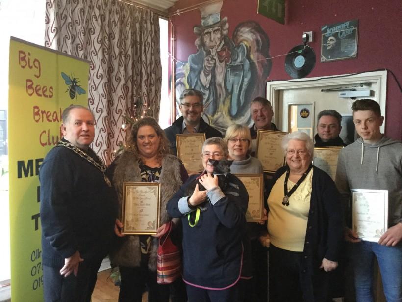 Photo of Big Breakfast Club Award Winners