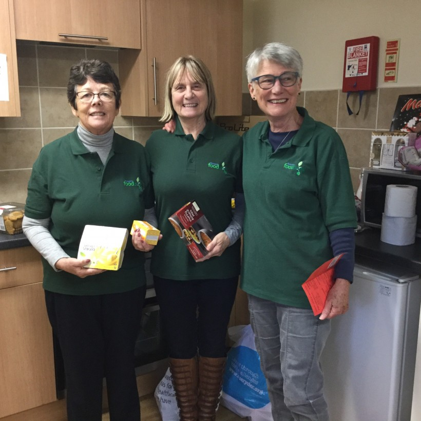 Foodbank volunteers