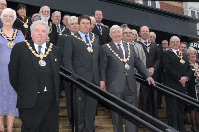 Mayors at Showmen's Guild