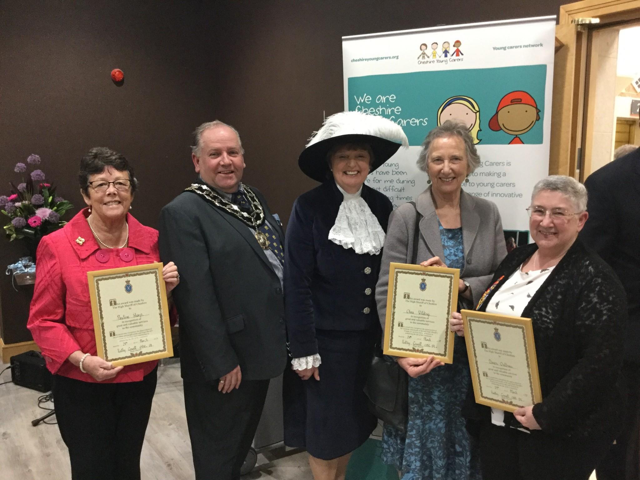 Photo of awards ceremony