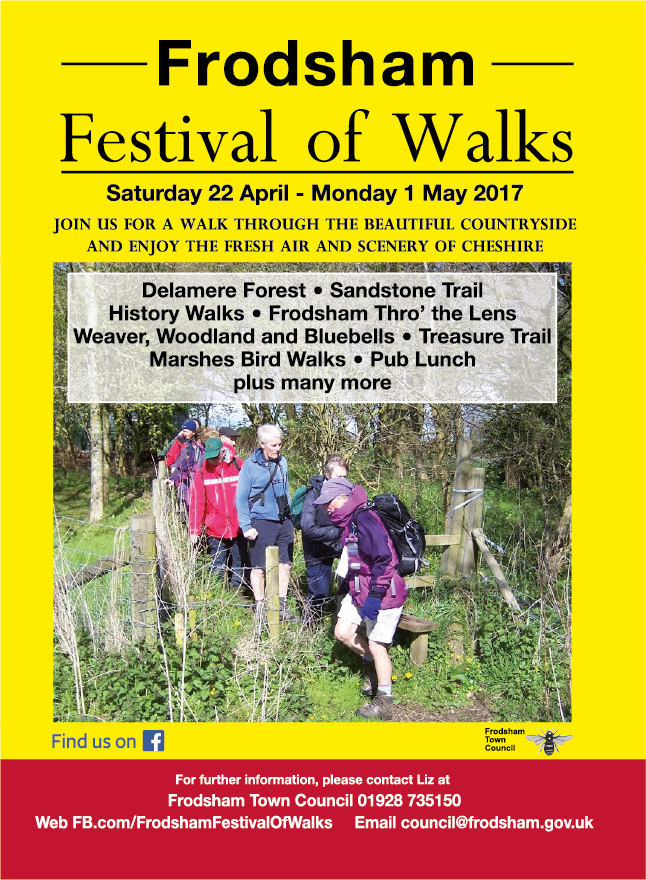 Poster for walks festival