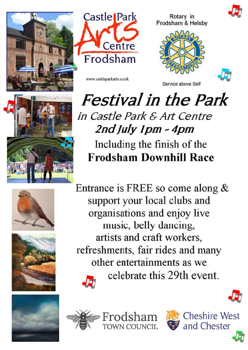 festival in the park frodsham 2017