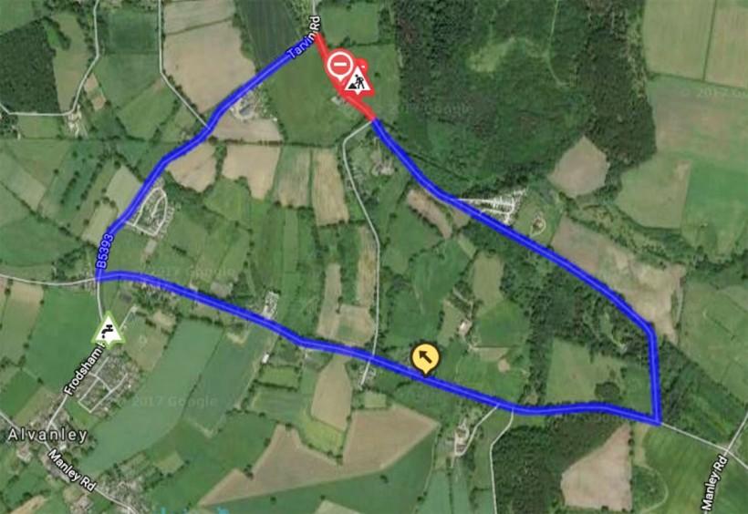 the ridgeway frodsham diversion