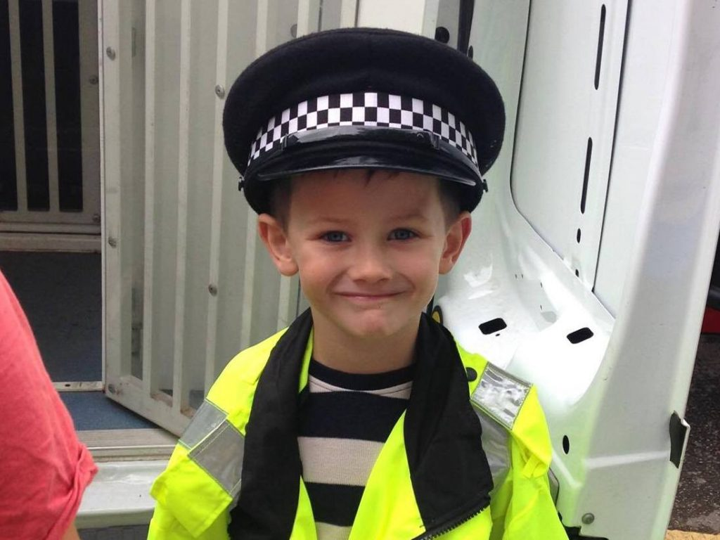 Potential new Police recruit!