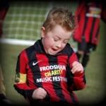 Ethan at football