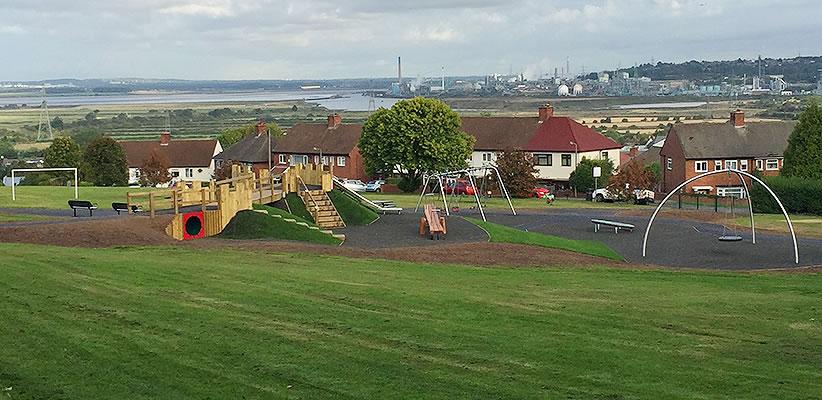 new churchfields play area frodsham