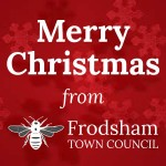 merry christmas message from frodsham town council