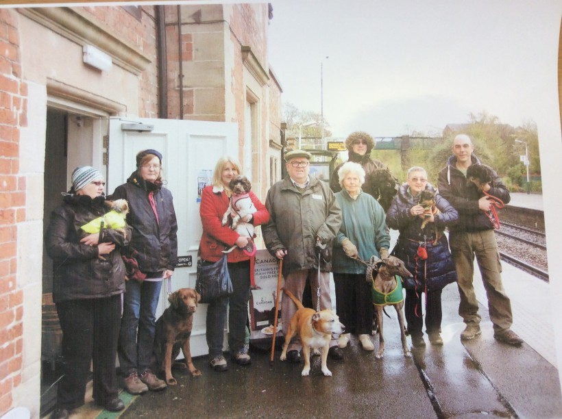 frodsham councillors dog walking festival paws and claws train station