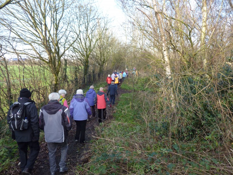 Frodsham Get Fit on Foot country path