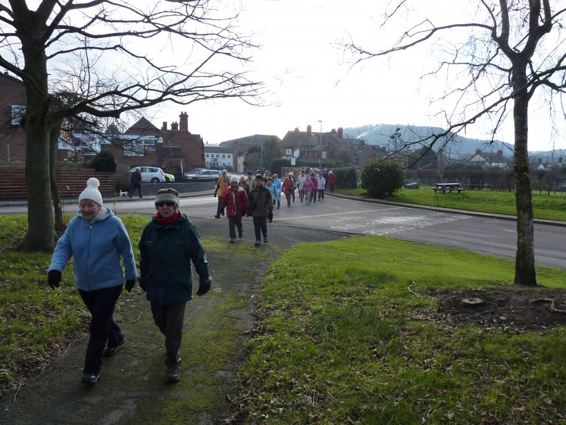 Frodsham Get Fit on Foot on Ship Street, Frodsham.