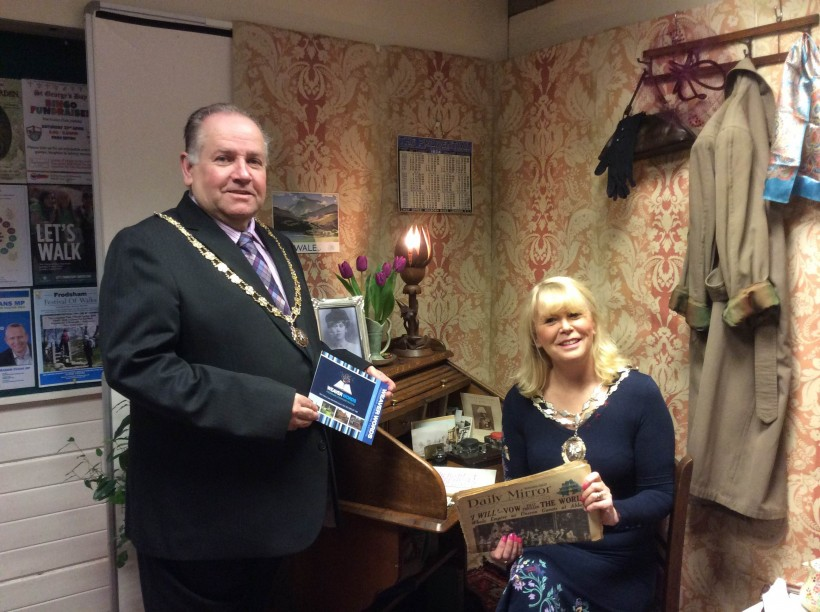 Frodsham Mayor Fran Sutton and Deputy Mayor Mallie Poulton