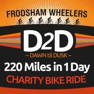 frodsham wheelers d2d icon charity bike ride