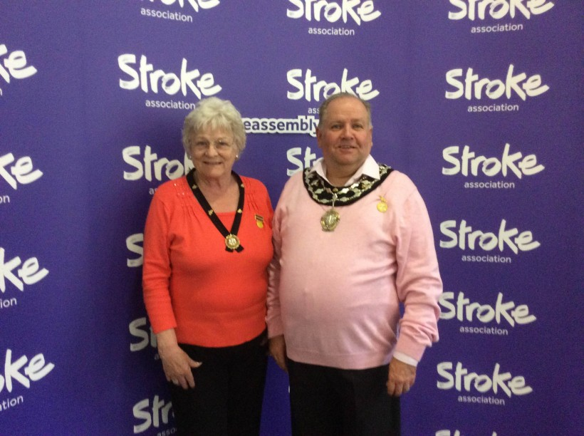 Malie Poulton National Stroke Assembly Nottingham 2016