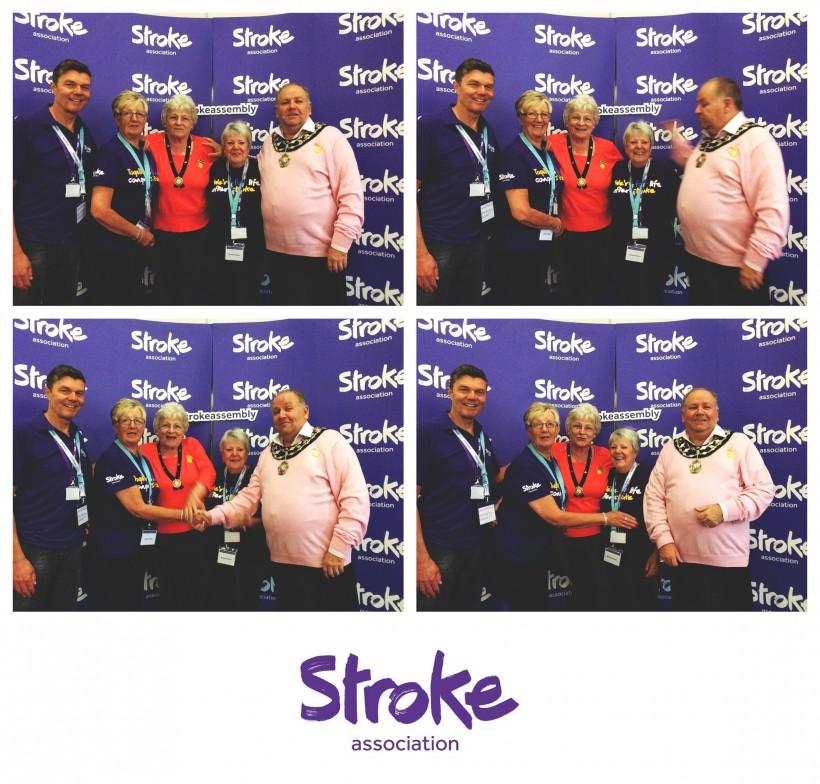 Malie Poulton at UK Stroke Assembly 2016