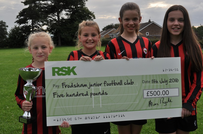 Frodsham girls 1