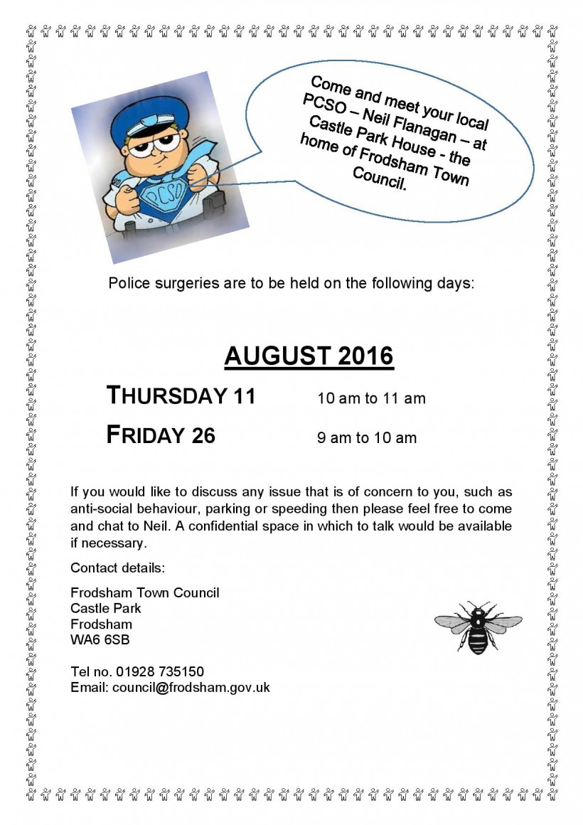 Police surgeries AUGUST-page-001