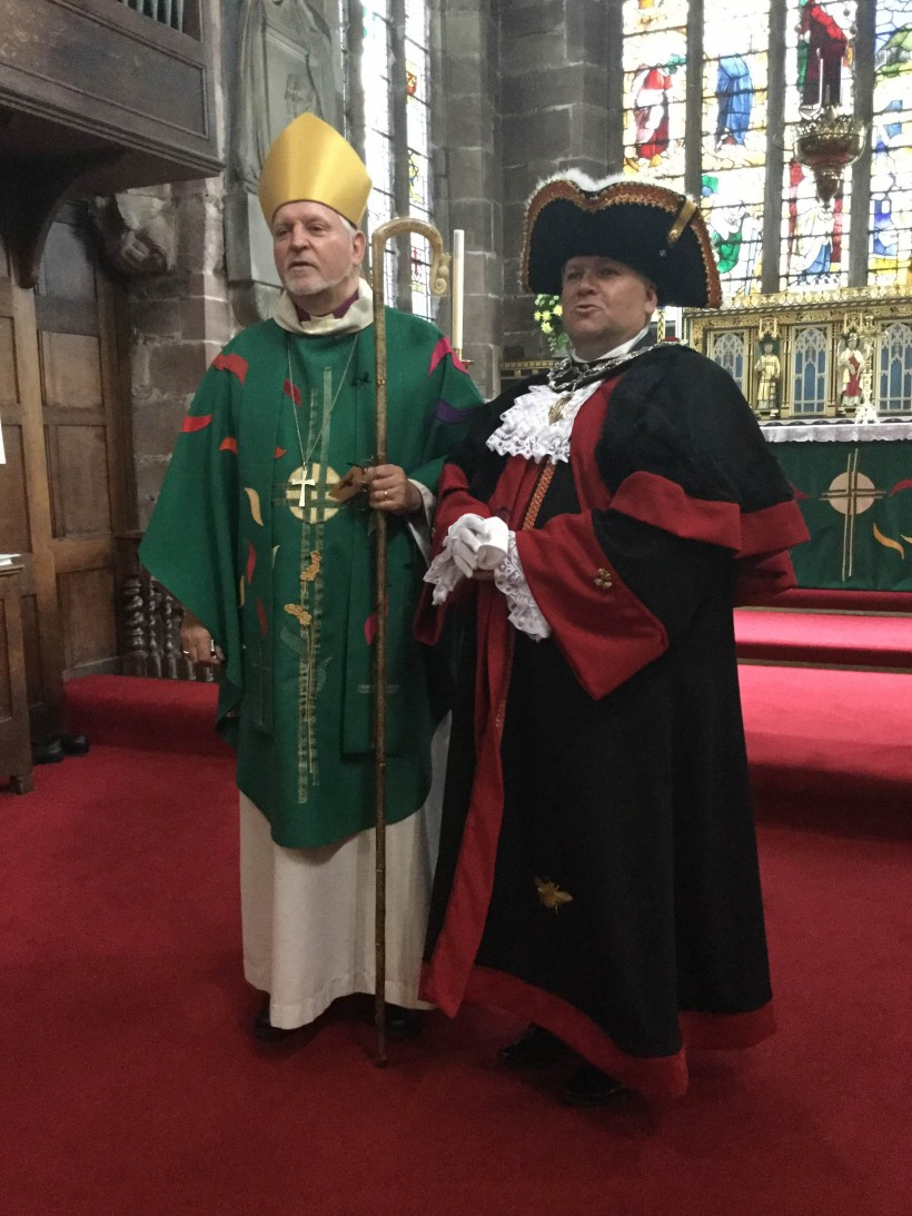 Bishop of Chester and Mayor