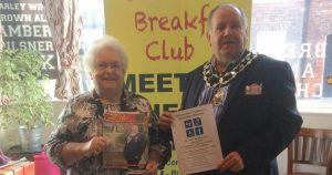 bees breakfast club frodsham mally poulton