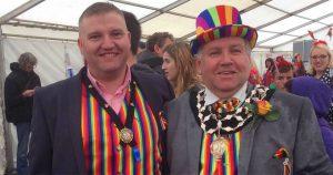 carlos mally poulton chester pride parade