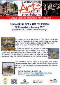 castle park frodsham open exhibition 2016