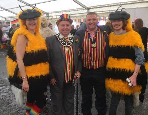 chester pride parade mally poulton frodsham mayor