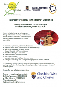 energy home workshop
