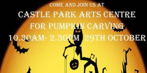 halloween pumpkin carving castle park arts centre 2016 tw