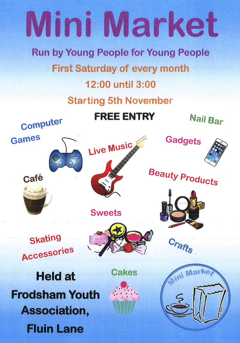 Mini Market - Frodsham Youth Association