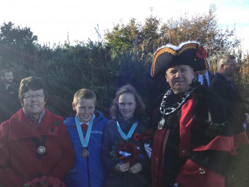 Mayor, consort and junior mayors