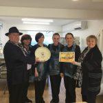 Award presentation to Crowther Cakes