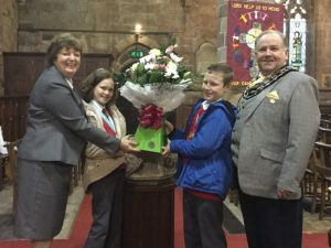 High Sheriff meets Junior Mayors
