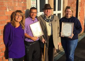 community pride awards frodsham station