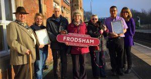 frodsham best kept station award 2016