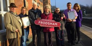 frodsham best kept station award