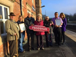 frodsham best kept station award cwac