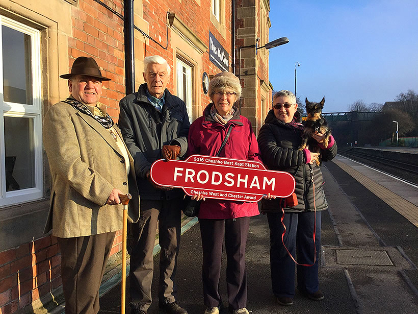 frodsham best kept station award ftc