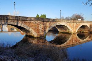 sutton causeway bridge lane river weaver frodsham