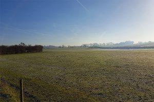 weaver valley frosty fields blue skies