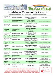 Image of community centre programme