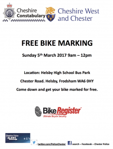 free bike marking
