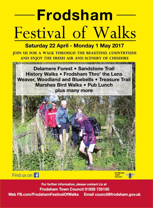 Poster for walks festival