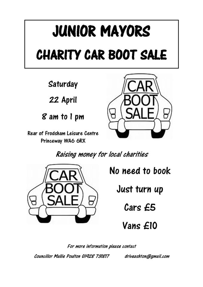 Car Boot Sale Poster